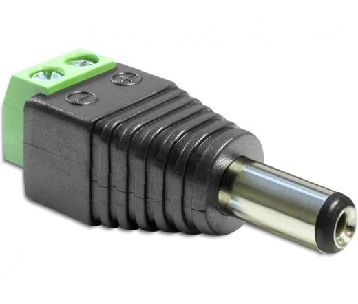 Delock DC 2.5 x 5.5 mm apa > Terminal Block 2 pin