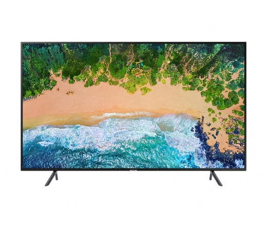 "Samsung 49"" NU7102K 4K Sík Smart UHD TV"