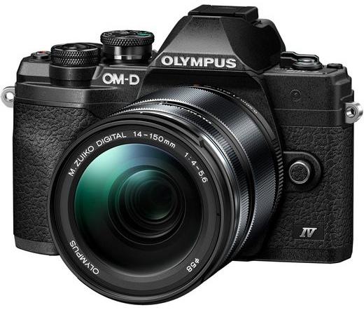 Olympus E-M10 Mark IV 14-150mm fekete kit