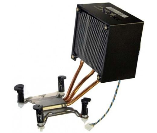Shuttle ICE Genie3 PM65 barebone hűtőcső rendszer