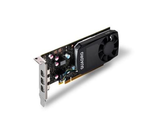 PNY Quadro P400 2GB DVI adapterrel