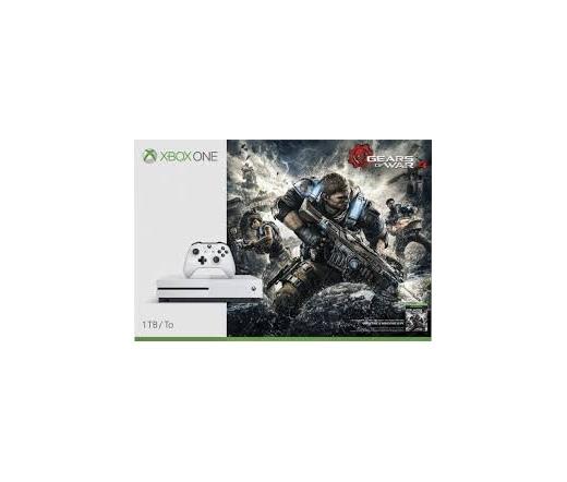 Xbox One S 1TB + Gears Of War 4 Fehér