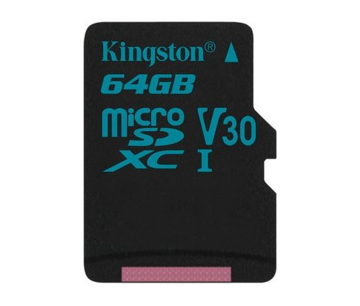 Kingston Canvas Go! microSD 90MB/s 64GB