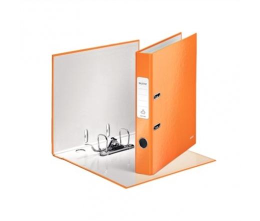 Leitz Iratrendező, 50 mm, A4, Narancssárga