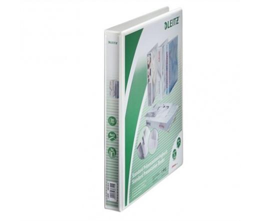 Leitz Gyűrűs dosszié, panorámás, A4 Maxi Fehér