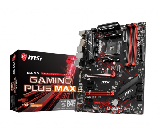 MSI B450 Gaming Plus Max alaplap