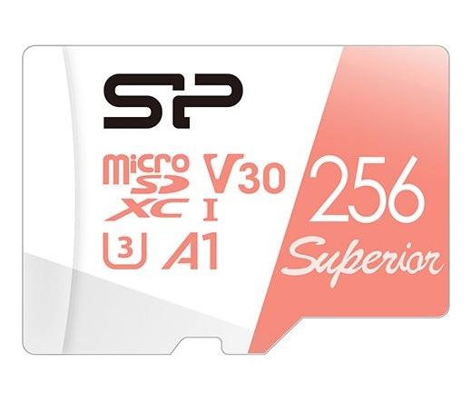 Silicon Power microSDXC Superior U3 A1 V30 256GB