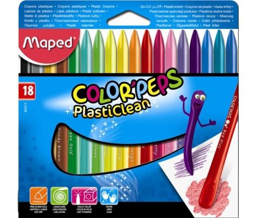 Maped Zsírkréta, ColorPeps, 18 különböző szín