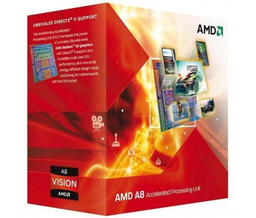 AMD A8-3850 dobozos