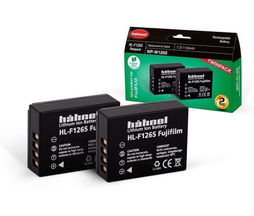 Hahnel HL-F126S Twin Pack (Fujif. NP-126S 1130mAh)