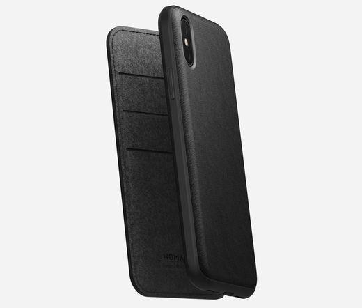 Nomad Rugged Folio iPhone XS Max-hoz fekete