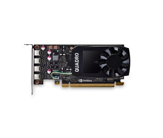 PNY Quadro P1000 4GB DVI adapterrel