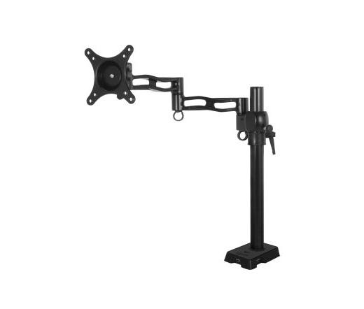Arctic Z1 asztali monitorállvány USB hubbal fekete