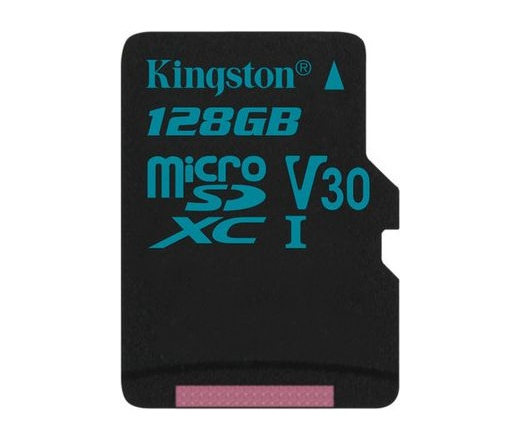 Kingston Canvas Go! microSD 90MB/s 128GB