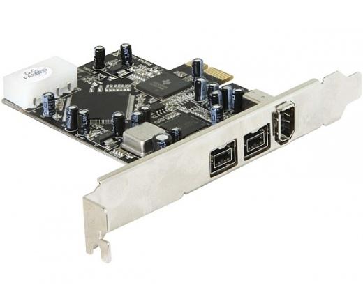 Delock PCI Express kártya FireWire A / B