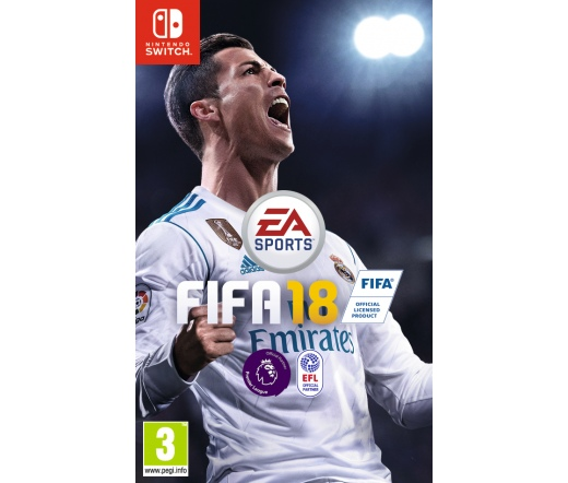 FIFA 18 Nintentdo Switch