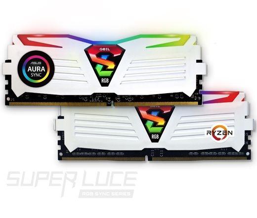 GeIL Super Luce RGB Sync 3000MHz Kit2 32GB fehér