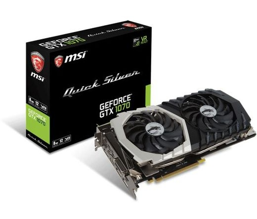 Msi GeForce Gtx 1070 Quick Silver 8G OC