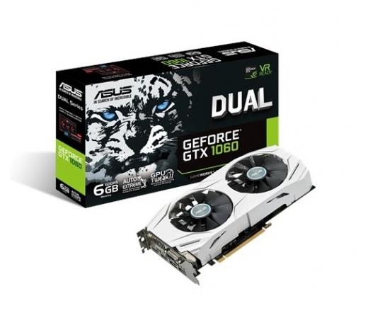Asus DUAL-GTX1060-6G 6GB DDR5