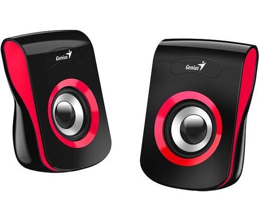 Genius SP-Q180 fekete-piros