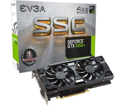 EVGA GeForce GTX 1050 Ti SSC GAMING ACX 3.0