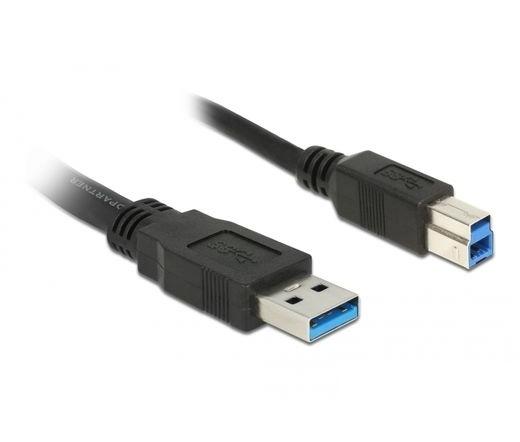Delock USB 3.0 A > B 2m fekete