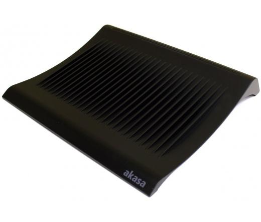 Akasa Gemini Fekete Notebook hűtő