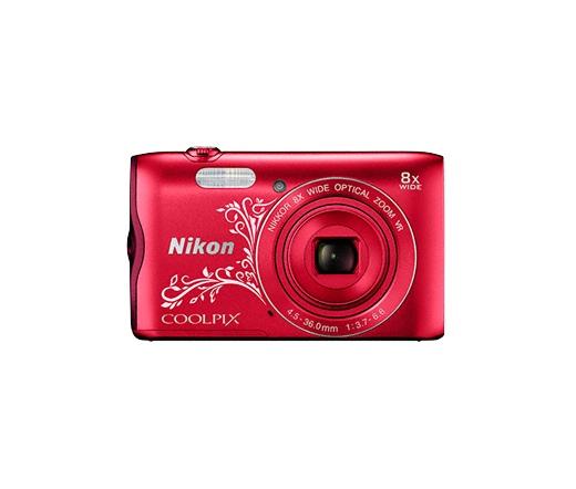 Nikon COOLPIX A300 vörös lineart