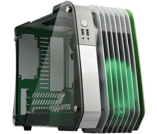 Enermax Steelwing zöld