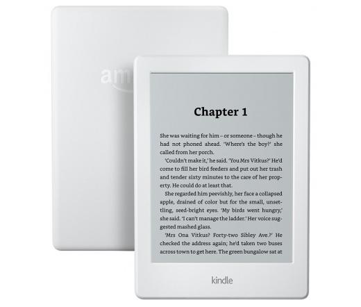 Amazon Kindle fehér, különleges ajánlatokkal
