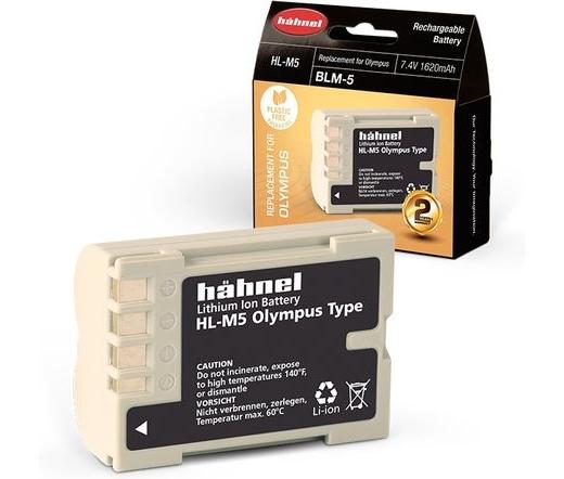 Hahnel HL-M5 (Olympus BLM-5 1620mAh)