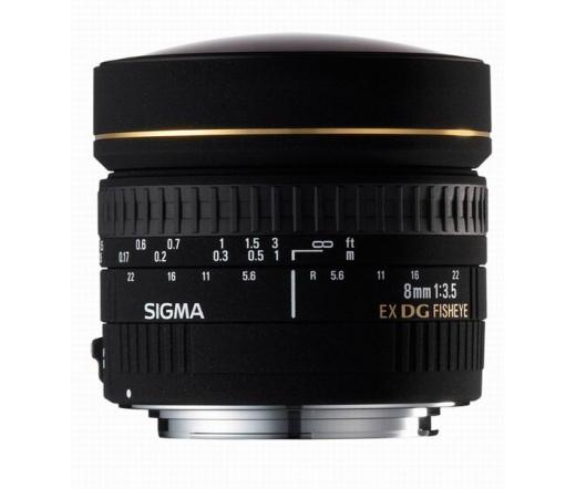 Sigma 8mm F3.5 EX DG Circular Fisheye (Nikon)