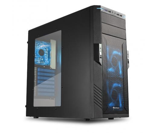 Sharkoon T28 fekete-kék