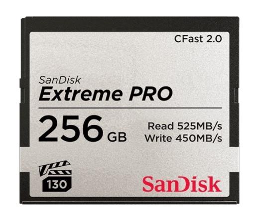 SanDisk Exrteme Pro CFast 2.0 256GB 525MB/s