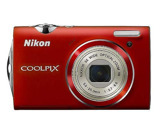 Nikon COOLPIX S5100 Piros