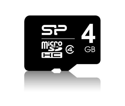 Silicon Power Micro SDHC 4GB Class 4