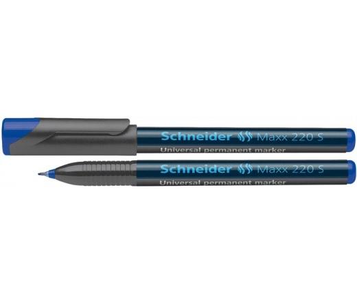 Schneider Alkoholos marker, OHP, 0,4 mm, kék