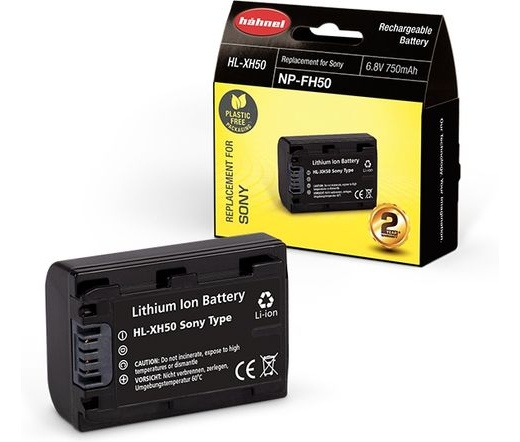 Hahnel HL-XH50 (Sony NP-FH50 750mAh)