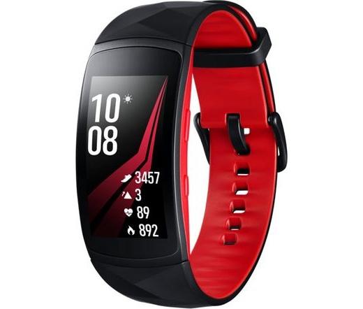 Samsung Gear FIT2 Pro kicsi piros