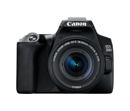 Canon EOS 250D + EF-S 18-55mm f/3.5-5.6 DC III kit