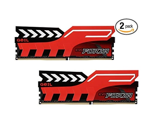 Geil Evo Forza Red DDR4 16GB 2666MHz CL16 KIT2