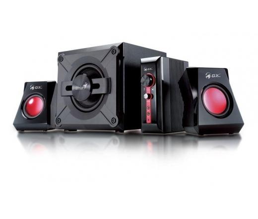 Genius SW-G2.1 1250 II 36W Fekete