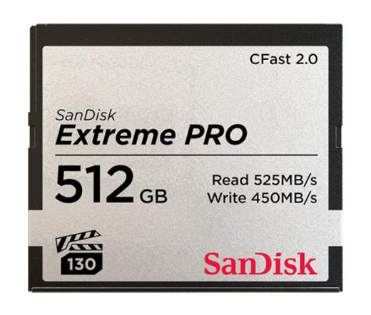 SanDisk CFAST 2.01 EXTREME PRO 512GB