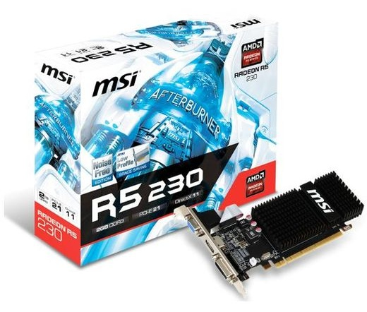 MSI R5 230 2GD3H LP