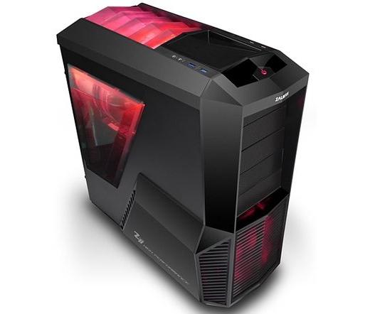 Zalman Z11 Plus HF1 számítógépház