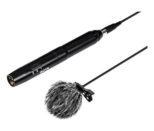 Boya BY-M11C kardoid XLR csíptetős mikrofon