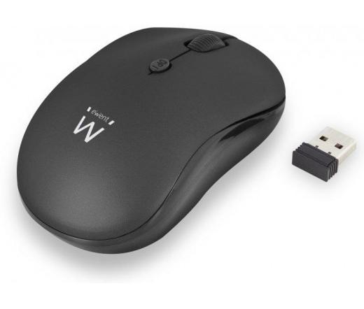 Ewent EW3232 Draadloze Mouse Black