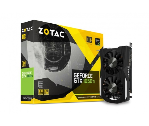 Zotac GTX 1050 Ti OC 4GB