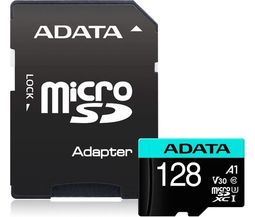 Adata Premier Pro microSDXC U3 100/80 128GB + adap