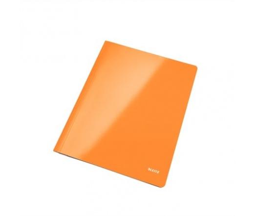 Gyorsfűző, laminált karton, lakkfényű, A4, LEITZ